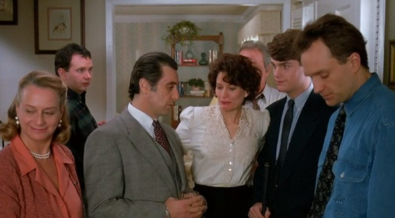 Scent of a woman - colonel smells nephew's wife